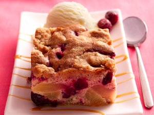 Cranberry-Apple&#32;Cobbler