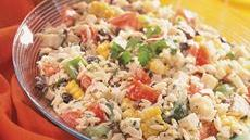 South-of-the-Border Pasta Salad Recipe