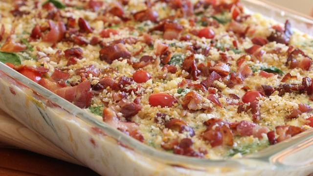 BLT Mac n' Cheese