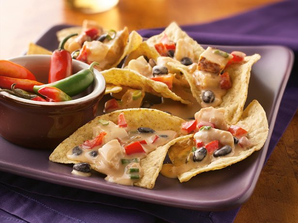 Slow Cooker Spicy Chicken Nachos