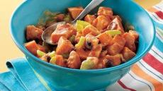 Orange-Honey-Sweet Potato Salad Recipe