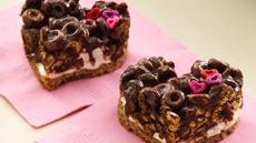 Chocolate Cheerios® Marshmallow Hearts Recipe