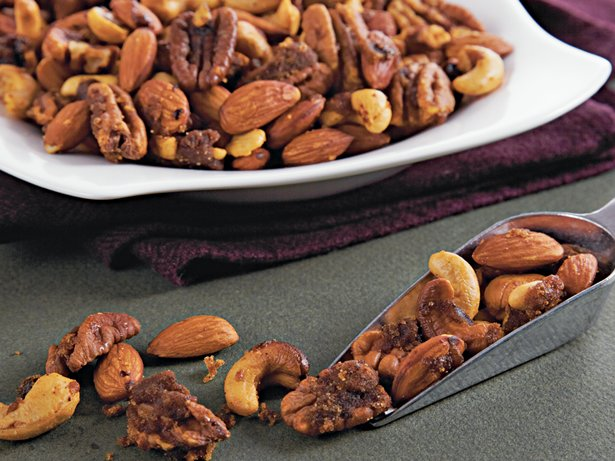 Slow Cooker Brown Sugar Party Nuts