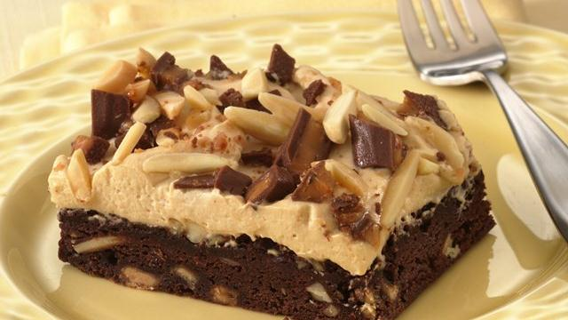 Image of Almond-toffee-mocha Squares, Pillsbury