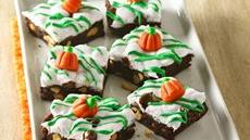 Pumpkin Patch Rocky Road Brownies Recipe