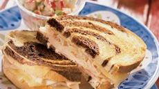 Smoked Turkey Reuben Sandwiches Recipe
