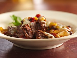 Slow Cooker Tex-Mex Round Steak