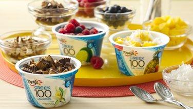 Greek 100 Tropical Fruit FroYo