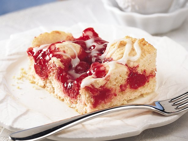 Cherry Filled Coffee Cake Recipe