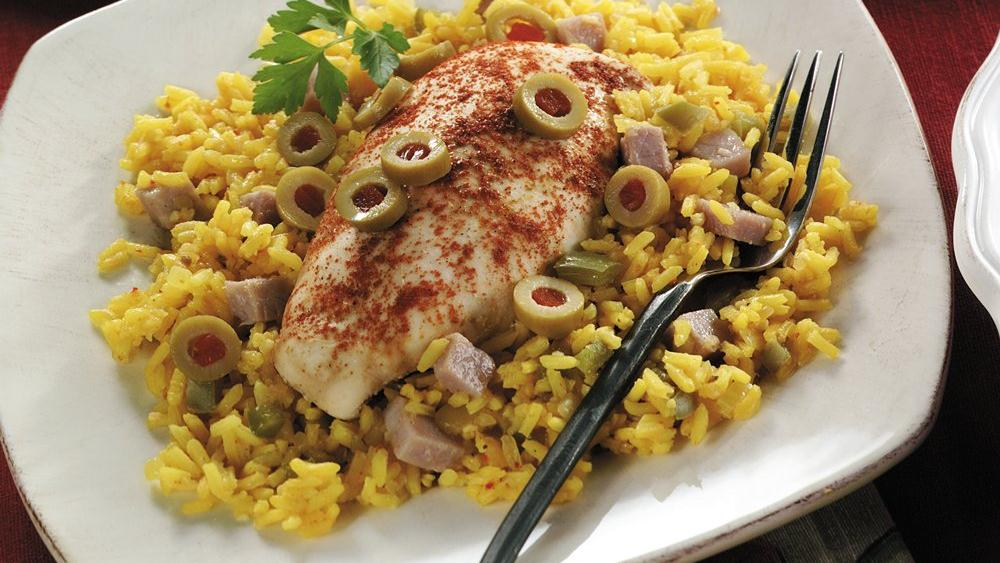 Spanish Chicken and Rice recipe from Pillsbury.com