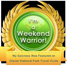 weekend warrior badge