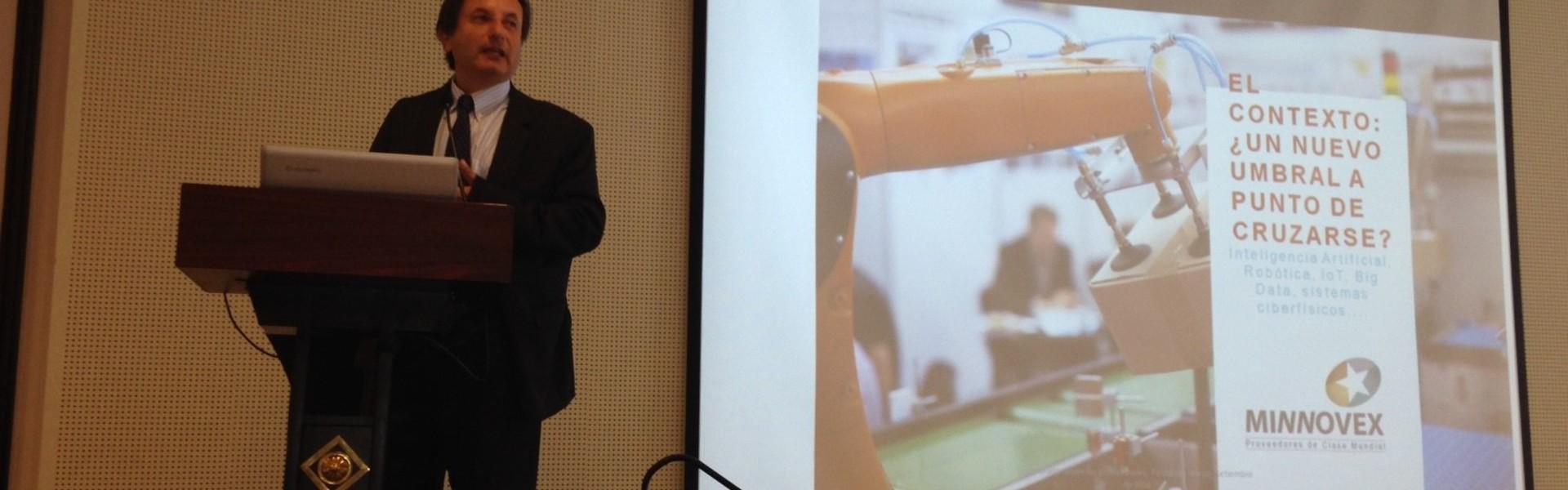 Gerente general de SK Godelius participó en el seminario ¿Es suficiente innovar?, nuevos estándares para el desarrollo y compra de innovación en minería