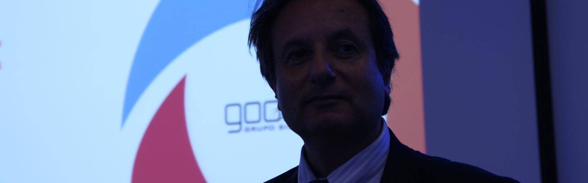 """Fernando Bracco, CEO de Godelius, realizó una ponencia en la reunión de la red """"GRD"""" de Bélgica."""