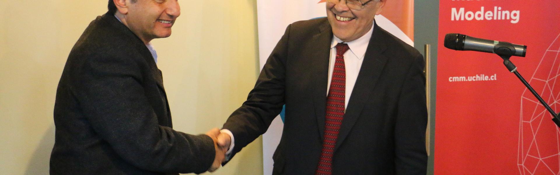SK Godelius y el Centro de Modelamiento Matemático (CMM) firman acuerdo de colaboración