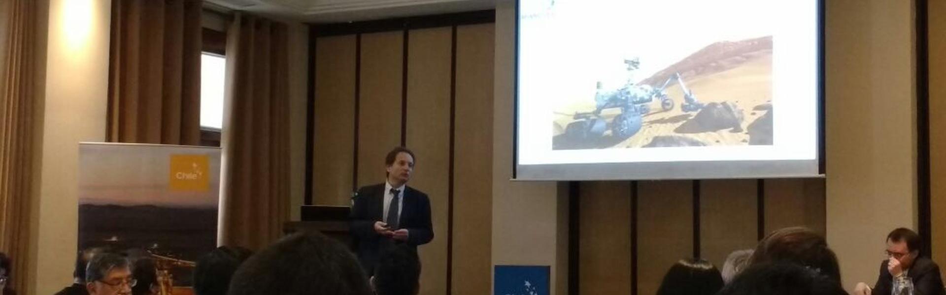 """CEO DE SK GODELIUS PARTICIPA EN EL TALLER """"TECNOLOGÍA E INNOVACIÓN PARA EL DESARROLLO SUSTENTABLE"""", REALIZADO EN LIMA"""