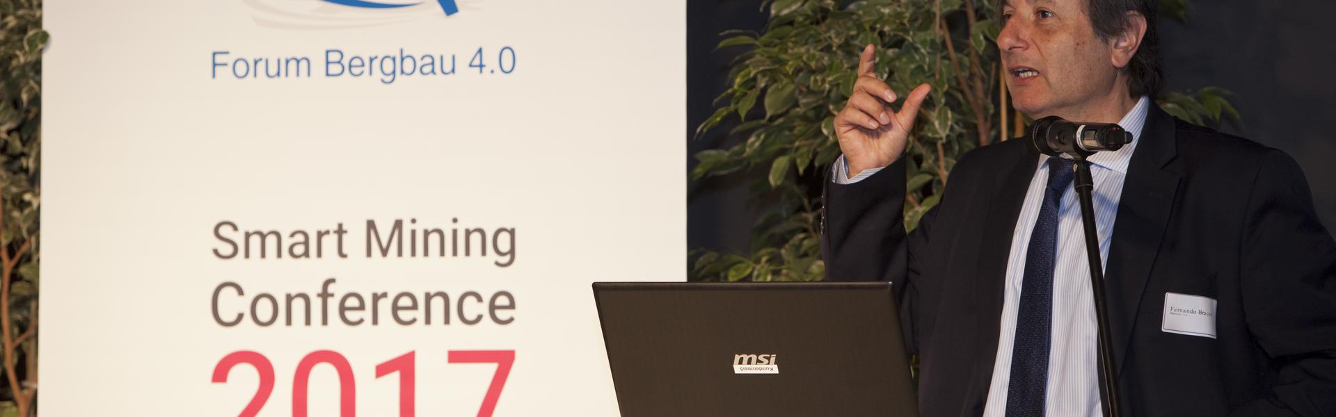 """Sk Godelius fue uno de los principales speakers en Foro Chileno-Alemán de minería """"Research Cooperation"""" y """"Minería 4.0 - Smart Mining Conference 2017"""", en Alemania"""
