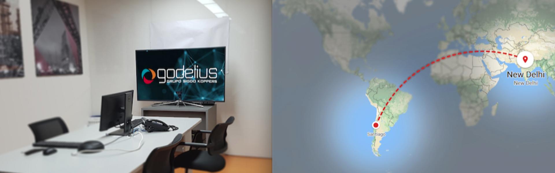 SK Godelius instaló su Sistema de Interacción (SIG) en Nueva Delhi, India