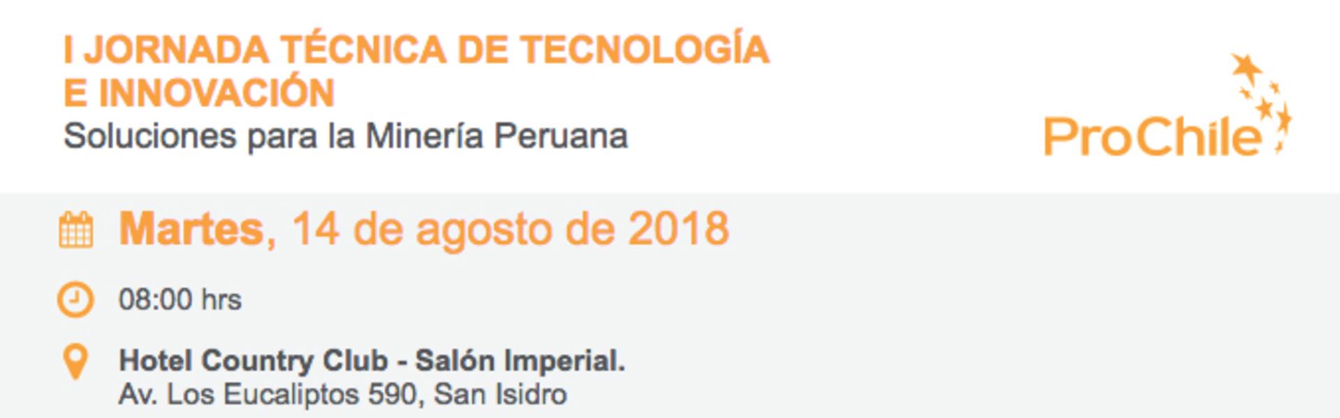 """SK Godelius participará del evento """"I jornada técnica de tecnología e innovación: Soluciones para Minería Peruana"""""""