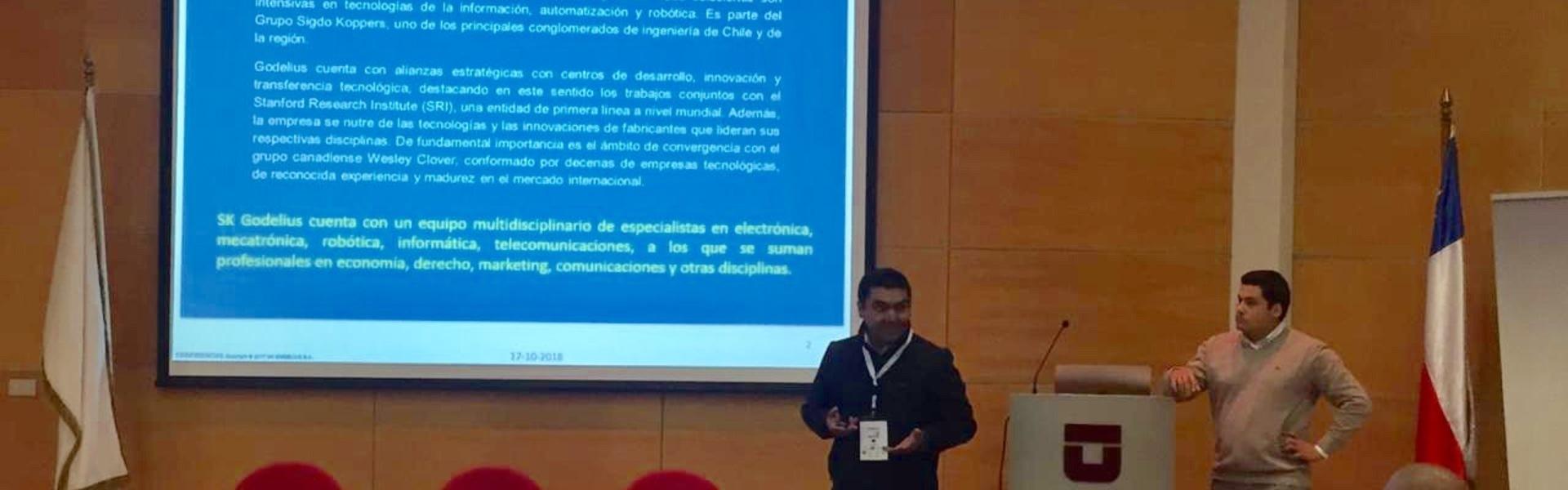 SK Godelius participó en el congreso minero CIDEMICH, de la Universidad de Talca