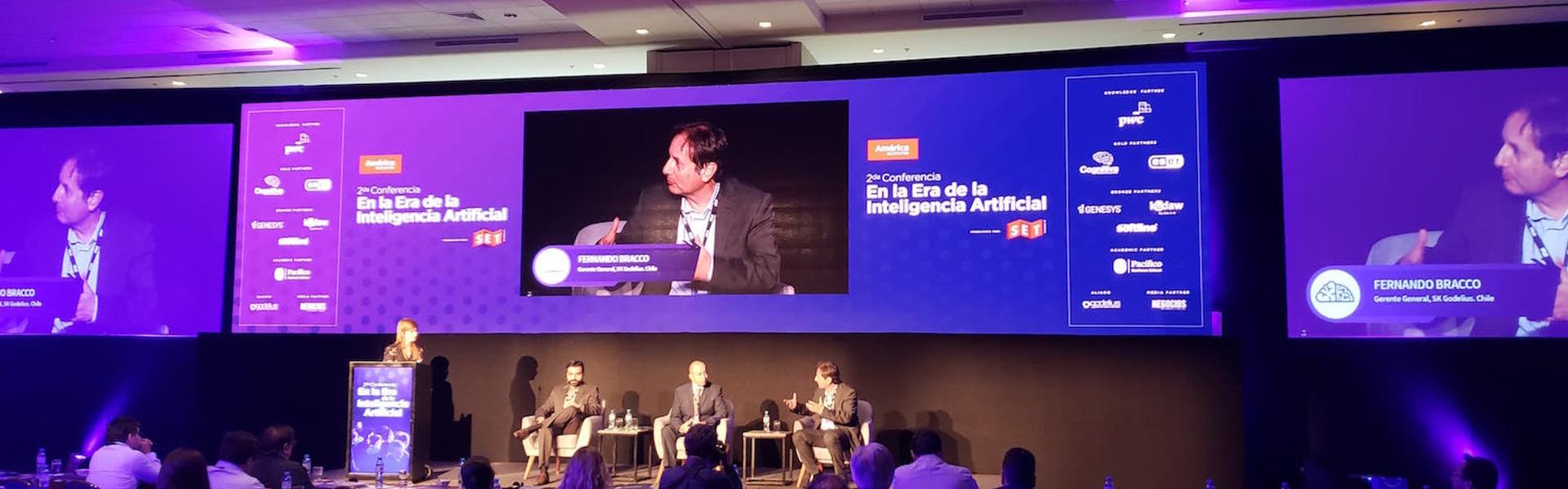 """SK Godelius expone en seminario en Lima """"En al Era de la Inteligencia Artificial"""""""