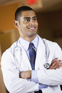 Portrait of young doctor