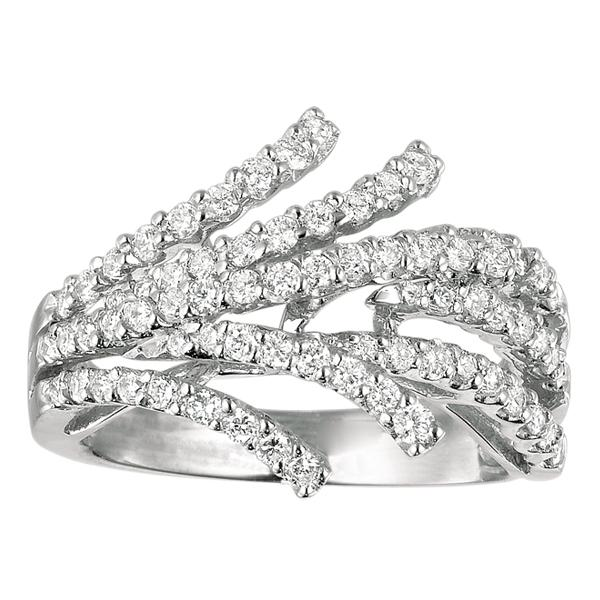 White Gold Diamond Fashion Rings Fashion Diamonds Rings Fashion
