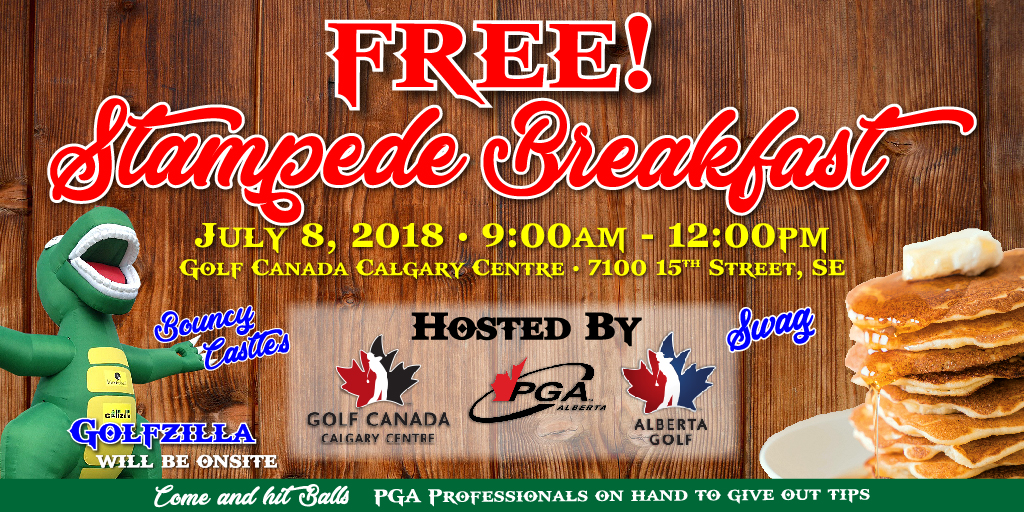 Alberta golf youre invited to our 2018 stampede breakfast see details malvernweather Images
