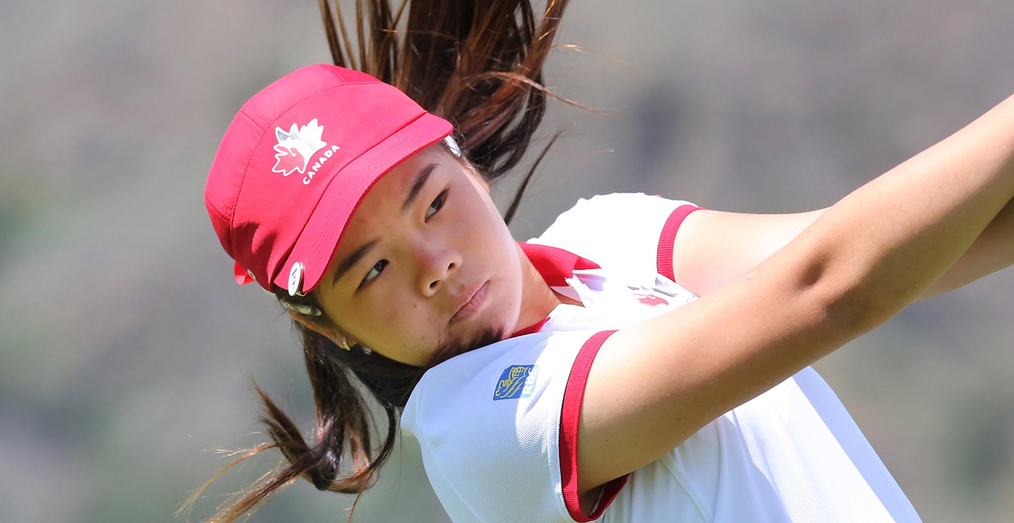team canada's kathrine chan cruises to nine-stroke victory at bob
