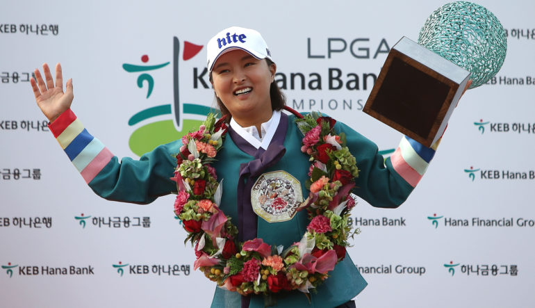 Image result for ji young ko wins keb