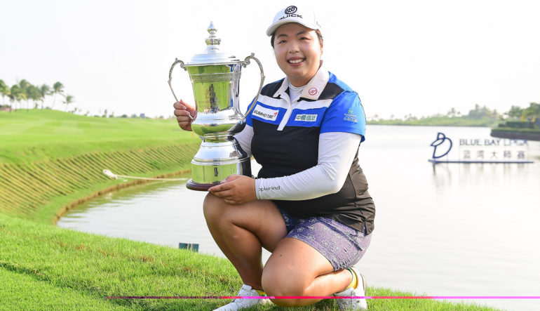 Image result for shanshan feng wins blue bay