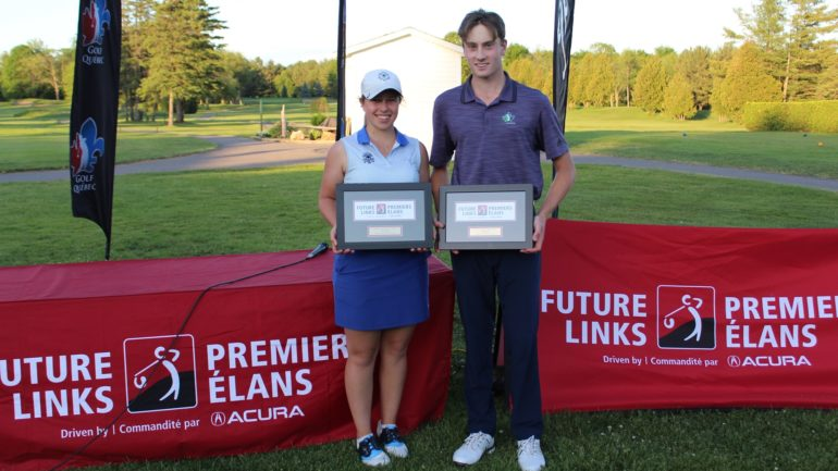 future links quebec winners emily romancew and robbie latter