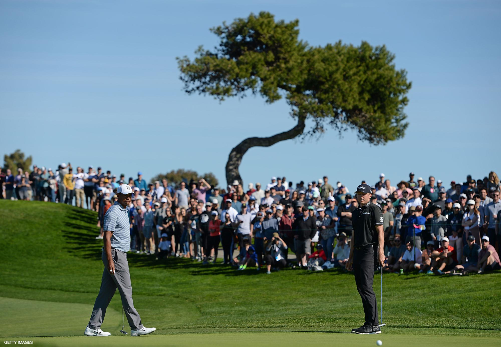 Tiger Woods & Mackenzie Hughes