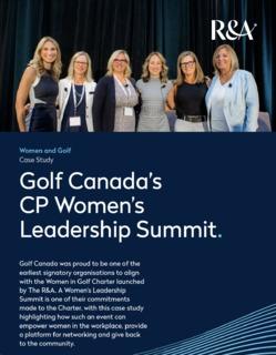 R&A Case Study: Women in Golf Charter