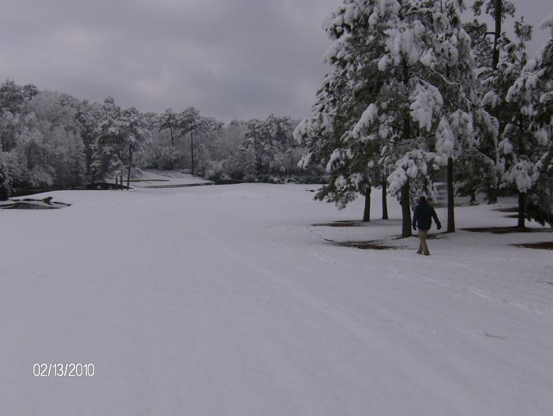 Augusta National Snow 3