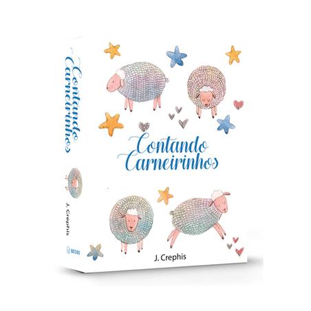 BOOK BOX CONTANDO CARNEIRINHOS 26X20X7CM