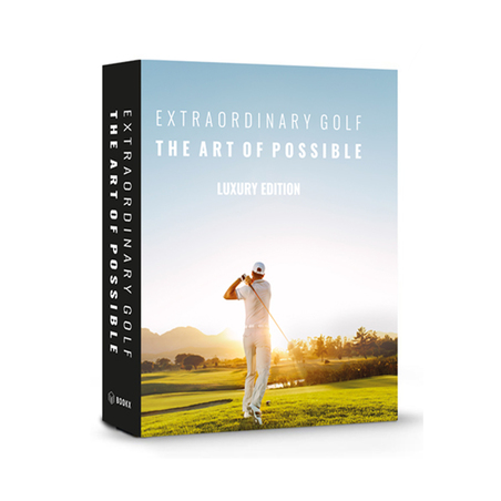 BOOK BOX EXTRAORDINARY GOLF  2X20X7CM