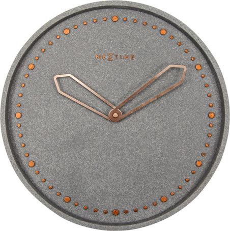 RELOGIO PAREDE CROSS GREY NEXTIME D=35cm
