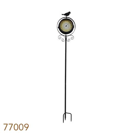 RELOGIO/TERMOMETRO C ESTACABROWNBIRD GREENWAY 110x20x11cm