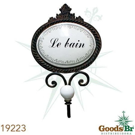 GANCHEIRA LE BAIN OLDWAY 23x15X8cm
