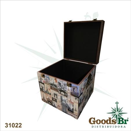 CAIXA (BOX STORAGE) 3PC PARIS OLDWAY 40x40x40cm