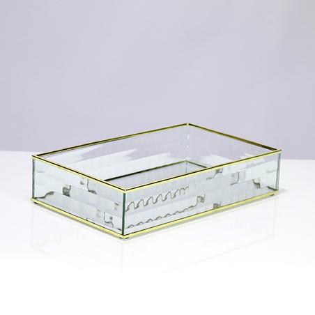 BANDEJA DE VIDRO 6x29x17,5cm