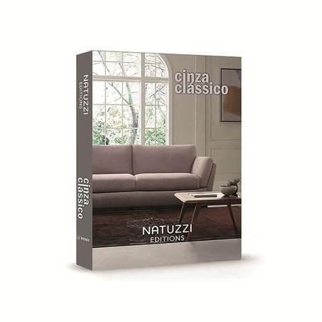 BOOK BOX NATUZZI CINZA CLASSICO 36x27x5cm