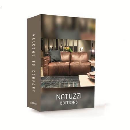BOOK BOX NATUZZI WELCOME TO CONFORT 26x20x7cm