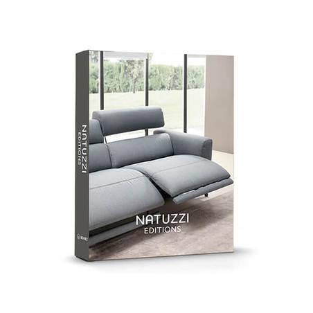 BOOK BOX NATUZZI SOFA CINZA 30X24X4cm