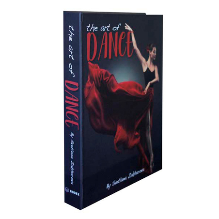 BOOK BOX DANCE 30x24x4cm