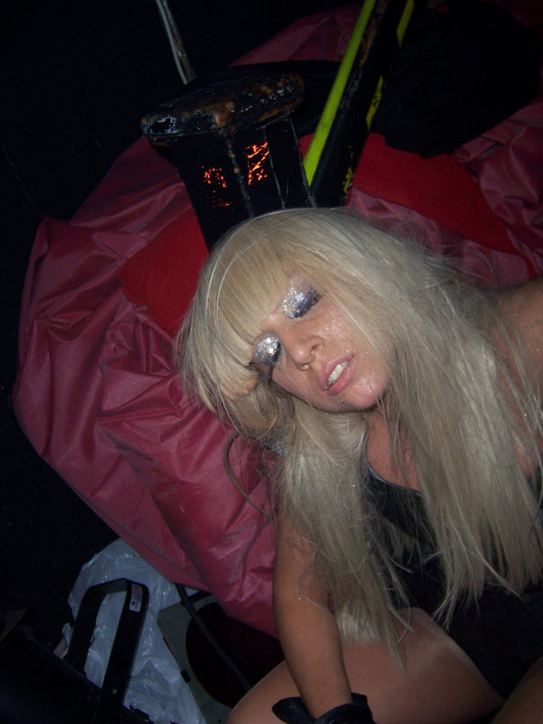Lady Gaga New Years Photo. Lady GaGa had for New