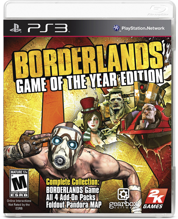 Avenida Store Borderlands Game of the Year Edition para PS3