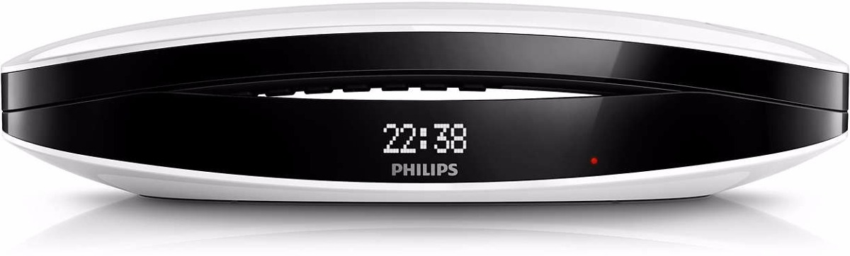 Philips Teléfono Inalámbrico Philips Luceo M6601wb/77 Caller Id