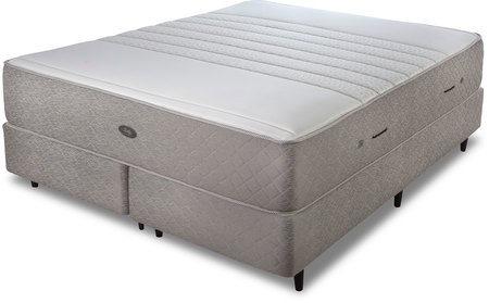 Sealy Colchón y Sommier de 160x200 Sealy con Resortes Premium Collection Greyland (Queen)