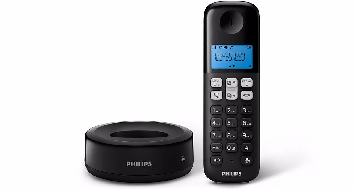 Inalámbricos - Philips Telefono Inalambrico Philips D1311b/77